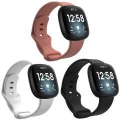 iMoshion Silikonband Multipack für die Fitbit Sense / Versa 3