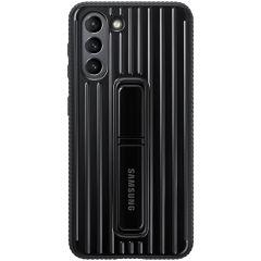 Samsung Protect Standing Cover Schwarz für das Galaxy S21