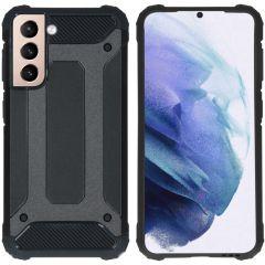 iMoshion Rugged Xtreme Case Samsung Galaxy S21 - Schwarz
