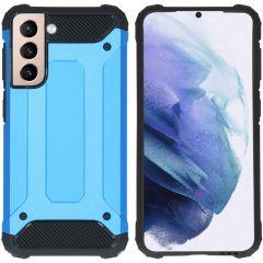 iMoshion Rugged Xtreme Case Samsung Galaxy S21 - Hellblau