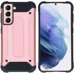 iMoshion Rugged Xtreme Case Samsung Galaxy S21 - Roségold