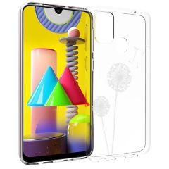 iMoshion Design Hülle Samsung Galaxy M31 - Pusteblume - Weiß