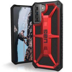 UAG Monarch Case für das Samsung Galaxy S21 - Crimson Red
