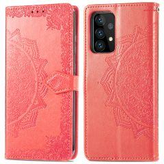iMoshion Mandala Booktype-Hülle Samsung Galaxy A72 - Rot