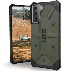 UAG Pathfinder Case für das Samsung Galaxy S21 - Olive