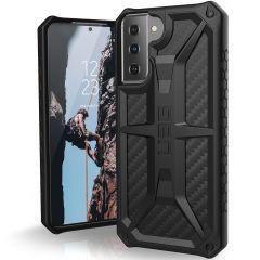UAG Monarch Case für das Samsung Galaxy S21 - Carbon Fiber