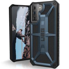 UAG Monarch Case für das Samsung Galaxy S21 - Blau