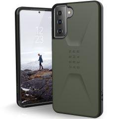 UAG Civilian Backcover für das Samsung Galaxy S21 - Olive