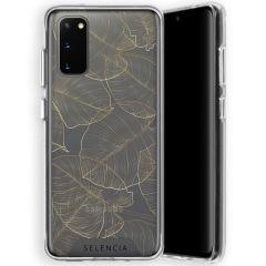Selencia Fashion-Backcover mit zuverlässigem Schutz Galaxy S20