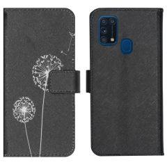 iMoshion Design TPU Booktype Hülle Samsung Galaxy M31- Dandelion