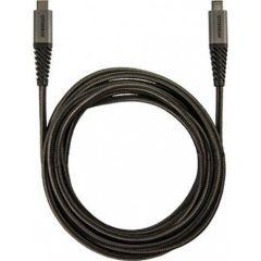 OtterBox Braided USB-C-zu-USB-C Kabel - 2 Meter - Schwarz