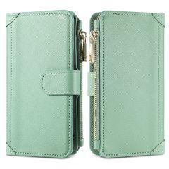 iMoshion Luxuriöse Portemonnaie-Hülle iPhone SE (2020) 8 / 7 - Grün