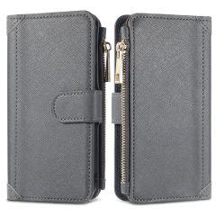 iMoshion Luxuriöse Portemonnaie-Hülle iPhone SE (2020) 8 / 7 - Grau