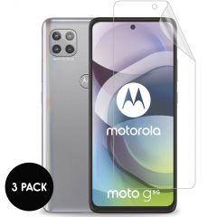 iMoshion Displayschutz Folie 3er-Pack Motorola Moto G 5G