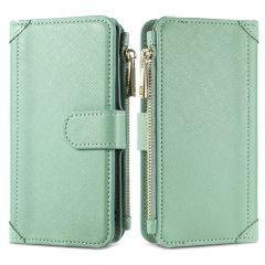 iMoshion Luxuriöse Portemonnaie-Hülle Samsung Galaxy S9 - Grün