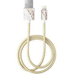 ideal of Sweden Fashion Lightning auf USB-Kabel - 1 Meter - Carrara Gold