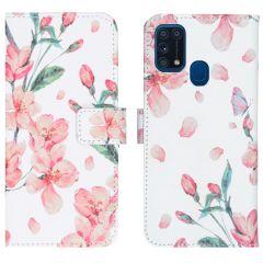 iMoshion Design TPU Booktype Hülle Samsung Galaxy M31
