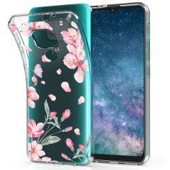 iMoshion Design Hülle Motorola Moto E7 Plus / G9 Play - Blume - Rosa