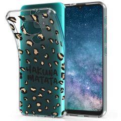 iMoshion Design Hülle Moto E7 Plus / G9 Play - Leopard