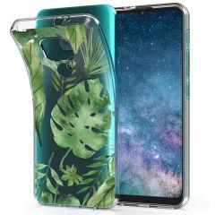 iMoshion Design Hülle Motorola Moto E7 Plus / G9 Play - Blätter