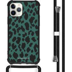 iMoshion Design Hülle mit Band iPhone 11 Pro - Leopard - Grün