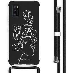 iMoshion Design Hülle mit Band Samsung Galaxy A41