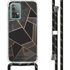 iMoshion Design Hülle mit Band Galaxy A52(s) (5G/4G) - Grafik-Kupfer