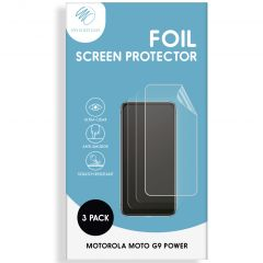 iMoshion Displayschutz Folie 3er-Pack Motorola Moto G9 Power