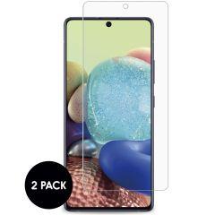 iMoshion Bildschirmschutzfolie Glas 2er-Pack Samsung Galaxy A72