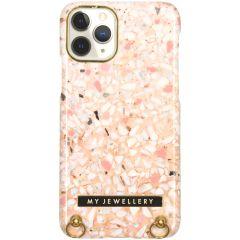 My Jewellery Design Hard Case Kordelhülle iPhone 11 Pro - Pink Brick
