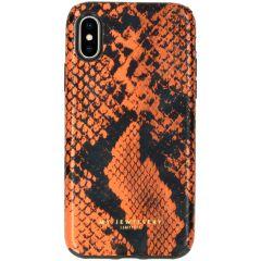My Jewellery Design Soft Case für das iPhone Xs / X - Snake Orange