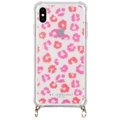 My Jewellery Design Soft Case Kordelhülle iPhone Xs / X - Leopard