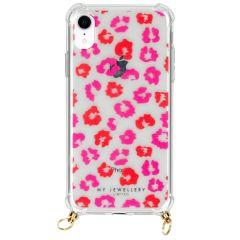 My Jewellery Design Soft Case Kordelhülle iPhone Xr - Leopard