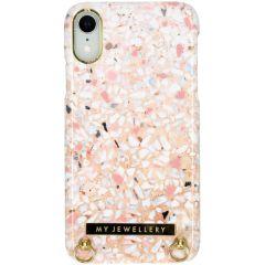 My Jewellery Design Hard Case Kordelhülle iPhone Xr - Pink Brick