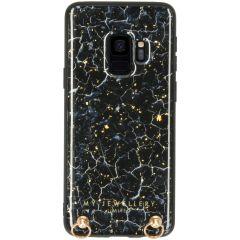 My Jewellery Marmor Hard Case Kordelhülle Galaxy S9 - Blue Marble