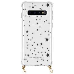 My Jewellery Design Soft Case Kordelhülle Samsung Galaxy S10 - Stars