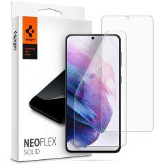Spigen Neo Flex Solid Case Friendly Screen Protector Galaxy S21