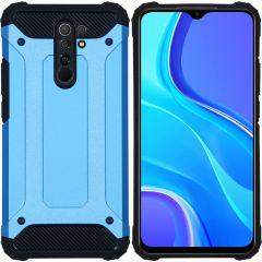 iMoshion Rugged Xtreme Case Xiaomi Redmi 9 - Hellblau