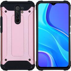 iMoshion Rugged Xtreme Case Xiaomi Redmi 9 - Rosegold