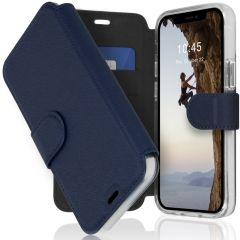Accezz Xtreme Wallet für das iPhone 12 Mini - Dunkelblau