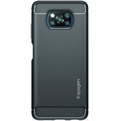 Spigen Rugged Armor Case für das Xiaomi Poco X3 (Pro) - Schwarz