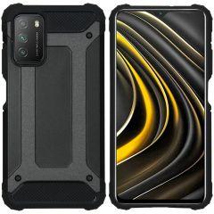 iMoshion Rugged Xtreme Case Xiaomi Poco M3 - Schwarz