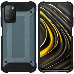 iMoshion Rugged Xtreme Case Xiaomi Poco M3 - Dunkelblau