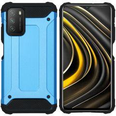 iMoshion Rugged Xtreme Case Xiaomi Poco M3 - Hellblau