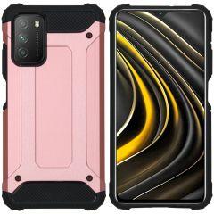 iMoshion Rugged Xtreme Case Xiaomi Poco M3 - Roségold