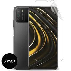iMoshion Displayschutz Folie 3er-Pack Xiaomi Poco M3