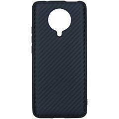 Carbon-Hülle Schwarz für das Xiaomi Poco F2 Pro
