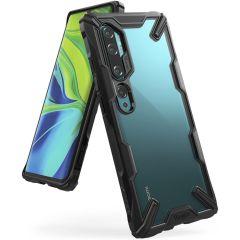 Ringke Fusion X Case Schwarz für das Xiaomi Mi Note 10 (Pro)
