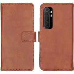 iMoshion Luxuriöse Buchtyp-Hülle Xiaomi Mi Note 10 Lite - Braun