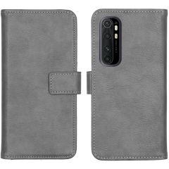 iMoshion Luxuriöse Buchtyp-Hülle Xiaomi Mi Note 10 Lite - Grau